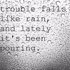 When it rains, it pours; but He promised to never let it flood. Amazing Quotes, Best Quotes, Funny Quotes, Some Quotes, Daily Quotes, Life Words, When It Rains, Truth Hurts, Stressed Out