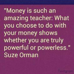 Suze Orman quote