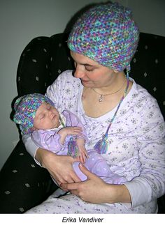 Erika Vandiver was 20 weeks pregnant with her second child when she learned she had breast cancer. With limited local medical options and four previous miscarriages, Vandiver was determined to find an alternative for her breast cancer treatment that didn't involve terminating her pregnancy. She traveled to MD Anderson for treatment that included chemotherapy, and gave birthday to her daughter on Thanksgiving Day. #breastcancer #pregnancy