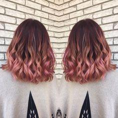 25 Adorable Rose Gold Hair Color Ideas