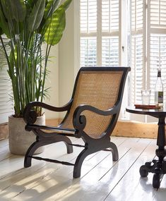 Lazy Wooden Armchair from Lombok Furniture Colonial Chair, British Colonial Decor, Colonial Furniture, Colonial Bedroom, French Colonial, Wooden Armchair, Wooden Sofa, Sofa Design, Chairs