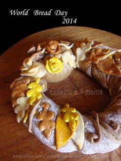 couronne d'automne 4 - cuisine à 4 mains