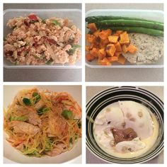 Peak week day número dos. Meal 1: chocolate peanut butter strawberry smoothie pre cardio Meal 2: egg whites with onions and peppers toast and jelly Meal 3: chicken burger grilled asparagus and roared butternut squash Meal 4: spaghetti squash baked chicken broccoli and vodka sauce Dessert: cookie dough @arcticzero with another small sad 16g of chocolate pb @nutsnmore Not hungry not deprived just a healthy happy bikini girl. #peakweek #povertymacros #volumeeating #lowcal #lowcarb #bikiniprep…
