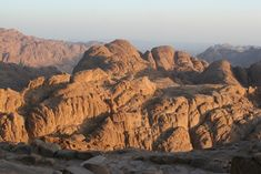Located in the Sinai Peninsula of Egypt, this holy site is where Moses was said to have spoken with God. Beautiful Sites, Beautiful World, Beautiful Places, Amazing Places, Mount Sinai Egypt, Heiliges Land, Sinai Peninsula, Blue Poster, Place Of Worship