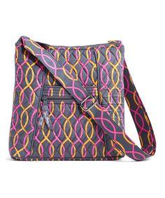 Vera Bradley Jazzy Swirls Hipster Crossbody Bag