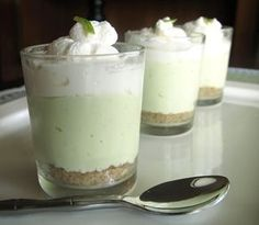 My most popular recipe, by a long shot. (ha ha!) No-bake lime cheesecake shooters. Again: easy, low carb, and gluten free.
