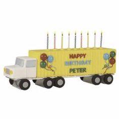 D Tractor Trailer Cake Pan