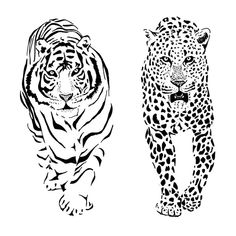 Negative space cats Negative Space Tattoo, To Boast, Space Cat, Animal Tattoos, Lion Sculpture, Statue, Cats, Animals, Gatos