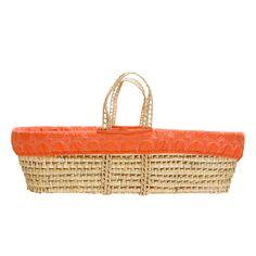 Moses Basket - Orange