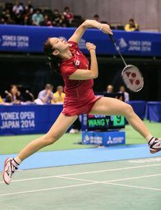 女子シングルス2回戦 ロンドン五輪銀メダリストの王儀涵を破った高橋沙也加=東京体育館