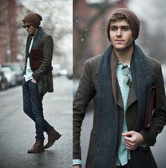 moda masculina inverno - Pesquisa Google