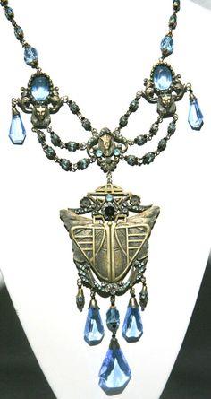 Deco Necklace Czech Jewelry