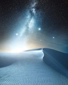 "sixpenceeeblog: ""The white sands of New Mexico taken by Jaxson Pohlman """
