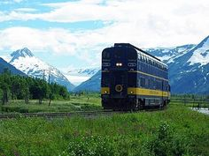 Alaska Railroad: the Glacier Discovery Train, www.AlaskaRailroad.com: