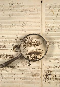 Beethoven's manuscript for his Violin and Piano Sonata, op. 96 in G major