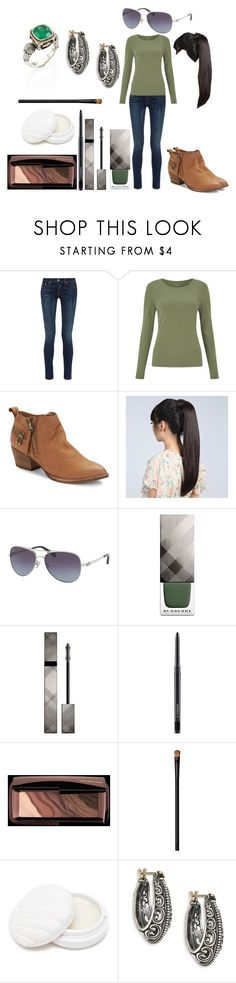 """""""Untitled #613"""" by michelle-konner ❤ liked on Polyvore featuring rag & bone, John Lewis, Dolce Vita, Wigs2You, Coach, Burberry, MAC Cosmetics, Hourglass Cosmetics, NARS Cosmetics and Forever 21"""