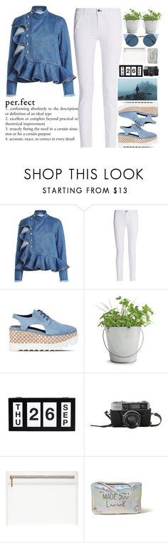 """""""It is not necessary to search in all for something specific. The main thing is to find in one person something necessary♥♥♥"""" by holly-k15 ❤ liked on Polyvore featuring Marques'Almeida, rag & bone, STELLA McCARTNEY, Potting Shed Creations, Hollister Co. and Fendi"""