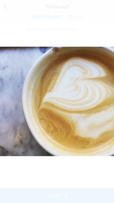 Coffee with love Latte, Coffee, Drinks, Food, Coffee Milk, Kaffee, Meal, Eten, Drink