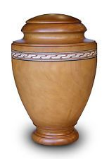 High Quality Spanish Cremation Ashes Urn - Adult Size - Wooden (WU004M) (Casket)