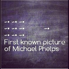 JAJAJAJAJA #MichaelPheps ♥