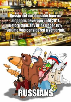 Hetalia ~~ Russian logic… <<<< I mean out of all the stereotypes, I think Russians have an awesome one.