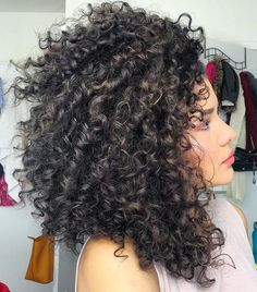 Wash N Go - All I put on my hair was Leave in Conditioner from @mydevacurl #textureshot