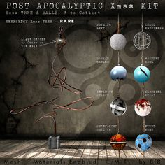 8f8 - Post Apocalyptic Xmas Kit for Arcade Gacha December 2013 2nd machine | Flickr - Photo Sharing!
