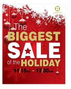 Contemporary Christmas Sale Poster Template  Nice Contemporary Christmas Sale Poster Template will fit presentations on year end sale, winter sale, contemporary christmas sale, christmas sale, etc.    SKU : PT090006LT  Page Size : 11in x 14in  Purchase Includes : Artwork, Vector & Fonts  Software Requirement : Adobe Illustrator CS 2    http://dlayouts.com/14-All-Templates/54-Contemporary-Christmas-Sale/flypage.tpl.html