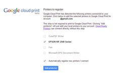 Want to print from Android to old-fashioned paper? Quickly get started using Google Cloud Print.
