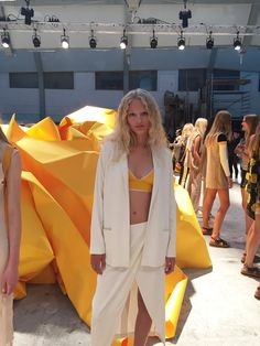 We've had our eye on Danish model Frederikke Sofie since she opened the show at Céline last season