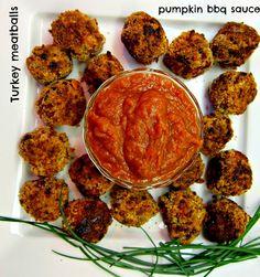 Crunchy Turkey Meatballs & Pumpkin Sauce - Unsandwich
