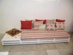 Dcore você | Sofá de Pallet – 100 Modelos Para se Inspirar | http://www.dcorevoce.com.br