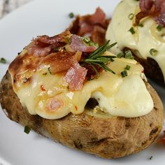 Serve these stuffed baked potatoes as a main dish or a side dish, very delicious!. Ham and Cheese Stuffed Baked Potato Recipe Recipe from Grandmothers Kitchen.
