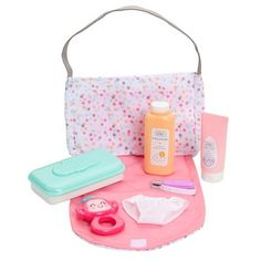 Perfectly Cute Just Like Mommy Baby Doll Diaper Bag Set with Accessories : Target Baby Dolls For Kids, Little Girl Toys, Cute Baby Dolls, Baby Girl Toys, Toys For Girls, Cute Babies, Baby Doll Play, Baby Doll Set, Muñeca Baby Alive