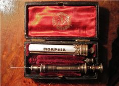 Victorian Morphine Injection.