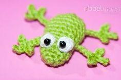 """Amigurumi – kleinen Frosch häkeln """"Fröschlein"""""""