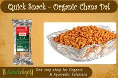 Quick Snack- Organic Chana Dal