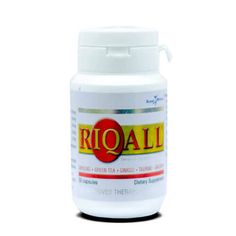 Our Riqall Food Supplement from Royale Brand. It contains five (5) essential herbs - Bacopa, Taurine, Ginseng, Ginkgo Biloba and Green Tea that helps promote memory and mental alertness! To buy this product contact +971.55.8355330.