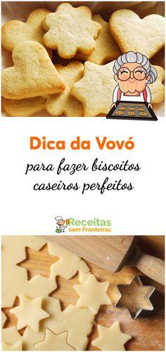 Cinnamon Biscuits - Pam*B Biscuit Cookies, Biscuit Recipe, Cake Cookies, Portuguese Desserts, Portuguese Recipes, Delicious Desserts, Yummy Food, Cinnamon Biscuits, Sweet Cooking