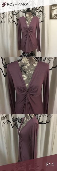 "NWOT Gorgeous Loft Tunic Blouse SZ M Really, really beautiful tunic blouse by Loft in a pretty muted plum. Super soft rayon/tencel fabric feels like a soft tee shirt on your skin. Never worn and in perfect retail condition. SZ M. 18"" bust with good stretch, 16"" waist, 27.5"" length. LOFT Tops Tunics"