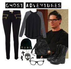 """""""Zak Bagans inspired outfit"""" by eliseluttrell ❤ liked on Polyvore featuring Michael Kors, MANGO, Zak! Designs, Rebecca Taylor, ASOS, yeswalker, Monki, Betsey Johnson, women's clothing and women"""