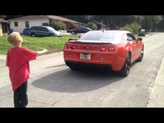 Parenting of the Day: Dad Pulls Son's Tooth Out With a Chevy Camaro - Cheezburger