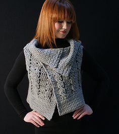 Ravelry: Viviana Crocheted Vest pattern by Flora Yang (FREE)