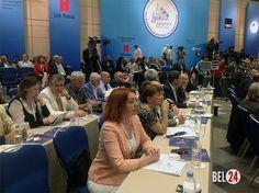 В Москве открылся ХVII Всемирный конгресс русской прессы              Руководители более чем 500 русскоязычных СМИ из 63 стран мира собрались в Москве, чтобы обсудить объективное освещение событий в России и за рубежом в рамках ХVII Всемирного конгресса русской прессы.  Р�