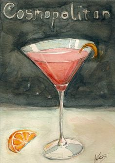 Mix Drink Series by Jared Fiorino, via Behance