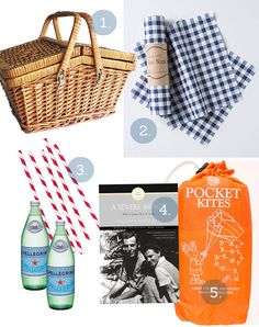 Picnic basket essentials from thorn + sparrow