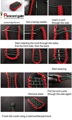 Making a paracord pouch to protect your riches! After losing three baby bottles in under a year as well as a broken phone, all due to fall damage, I decided that I better start wrapping valuables, especially technology in paracord wraps. That or get another job to pay off the stuff we break I suppose. After ...