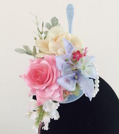 Floral Teacup Fascinators  fascinators  teacups  hats  flowers  pearls   crown   d0a6ba6510cb