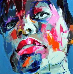 Françoise Nielly #art #painting #portrait