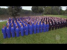 """This version of """"Amazing Grace"""" by the Mormon Tabernacle Choir is absolutely beautiful 